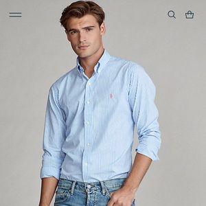 Ralph Lauren Blue Label long sleeved button down